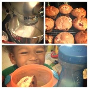 muffin baking