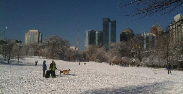 2010 Midtown Atlanta snow