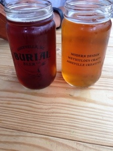 The fine glassware of Burial Brewing