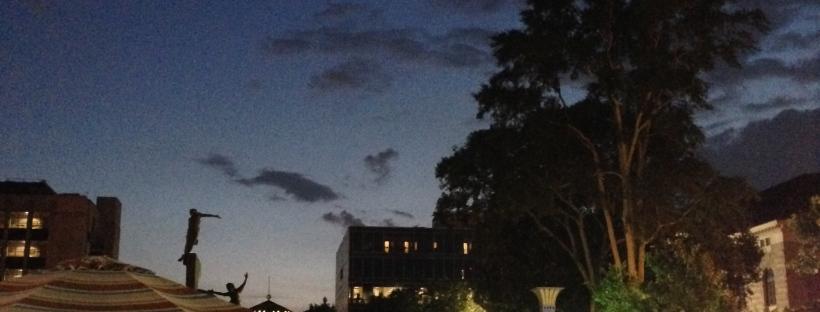 Decatur summer night