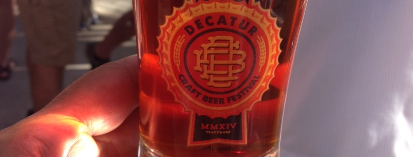 Decatur Beerfest Glass