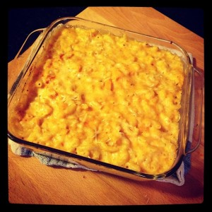 You can't be a thick girl without the mac and cheese!