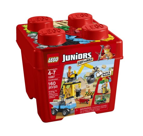 Lego Juniors construction site playset