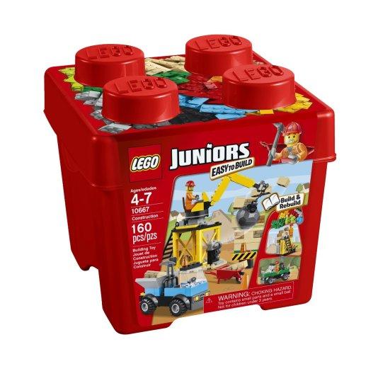 Lego Juniors construction site playset