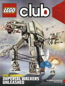 Lego Club Magazine cover