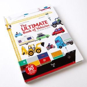 The Ultimate Book of Vehicles by Anne-Sophie Baumann and Didier Balicevic